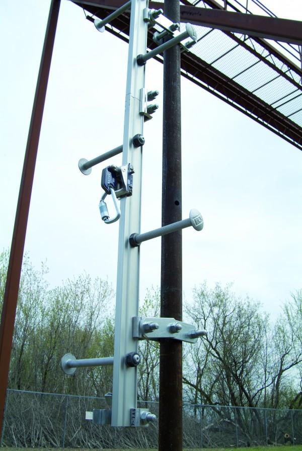 Railok 90 Vertical Rail Fall Arrest System En 353 1 Css
