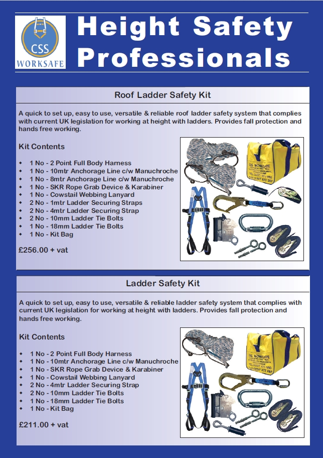 Ladder Safety System Kits, Components & Accessories Brochure