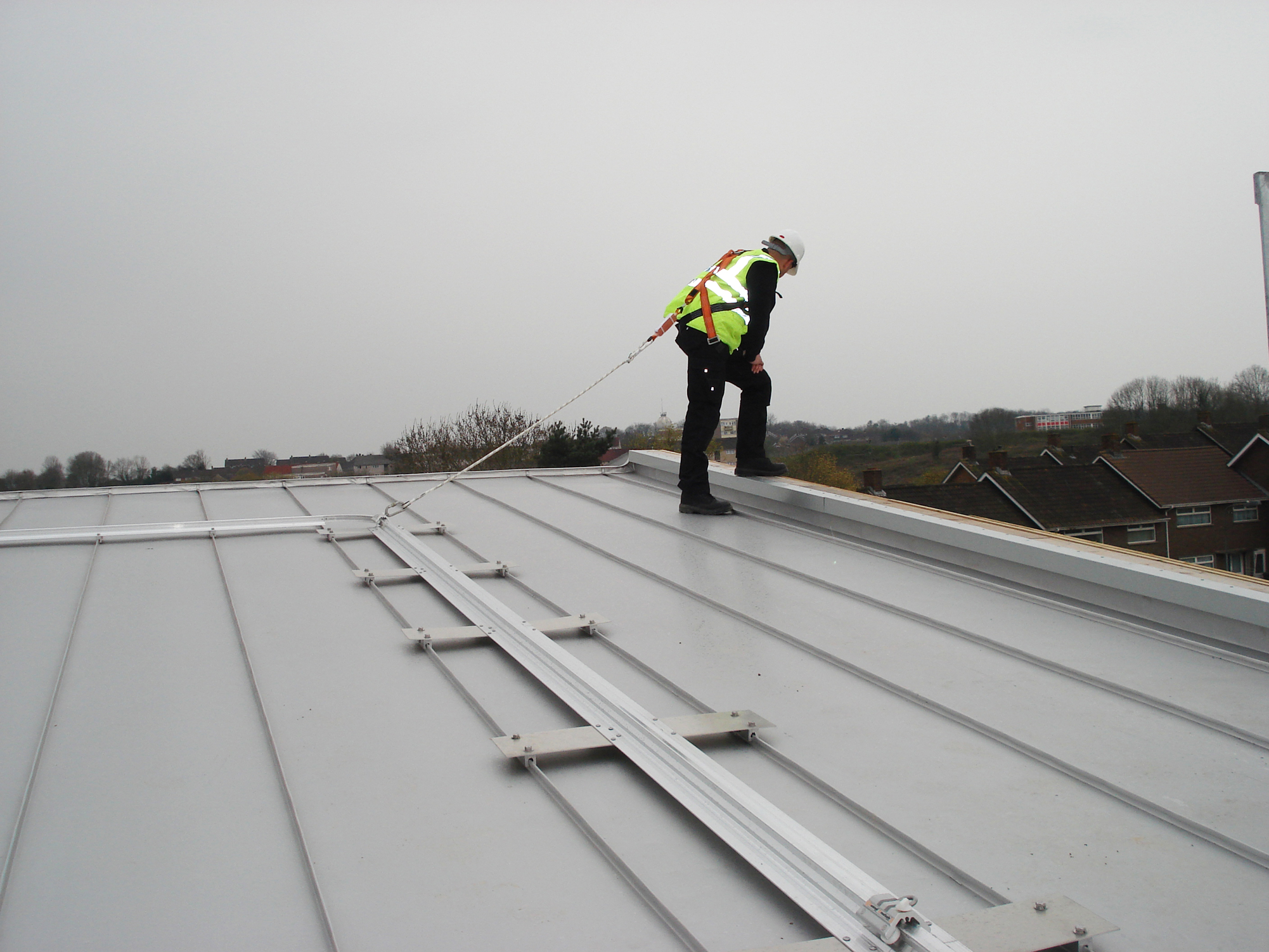 Roofsafe Rail Fall Arrest System Css Worksafe
