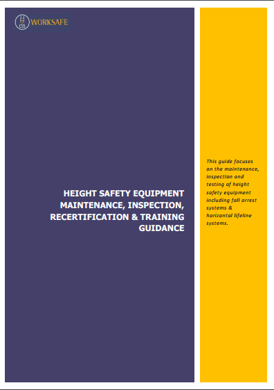 Height Safety Equipment Inspection & Maintenance Guide